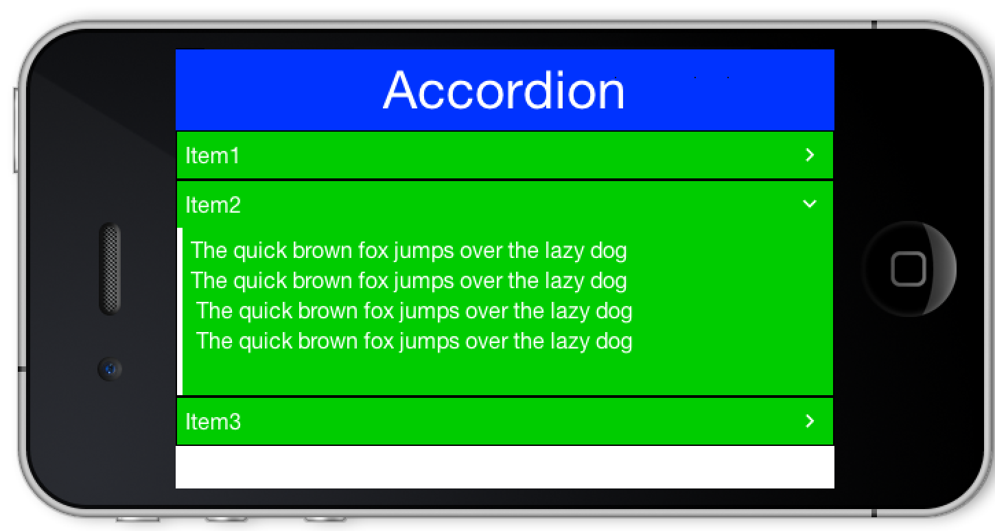 Accordion Control & Xcode Migration Update