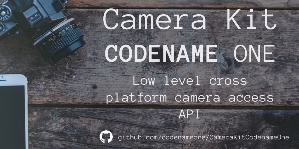Camera Kit - Low Level Camera API
