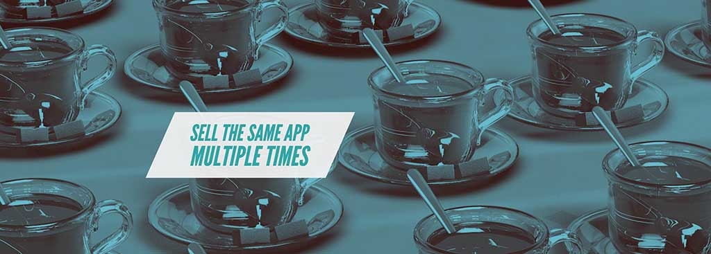 Deploy the Same Mobile App/Template Multiple Times