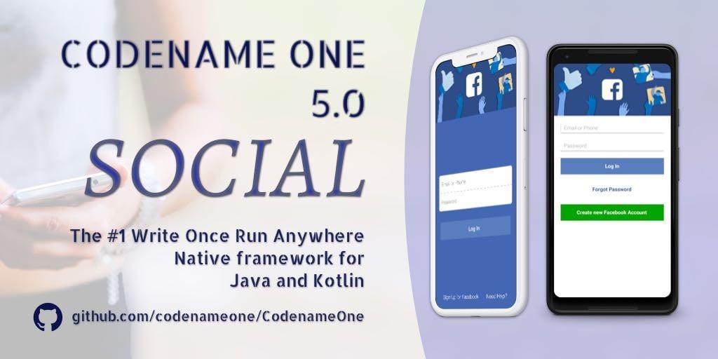 Codename One 5 0