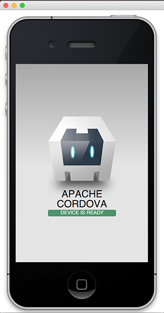 Cordova Hello World App
