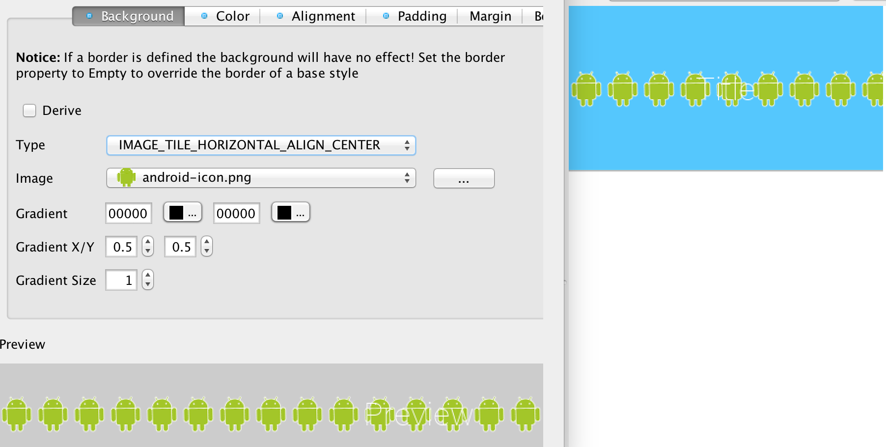 Background image align - Image_tile_horizontal_align_center Tiles The Image In The Middle Of The Component