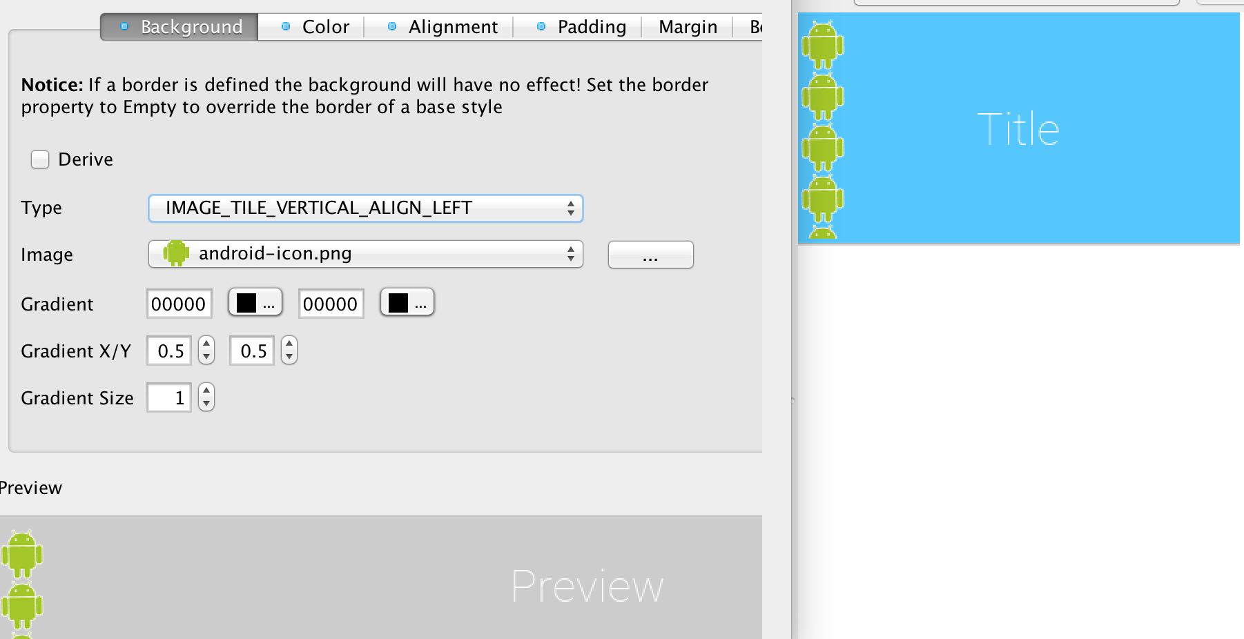 Background image align - Image_tile_vertical_align_left Tiles The Image On The Left Side Of The Component