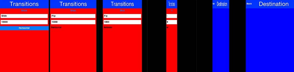 Animation and Transition - Fluid mobile UI (User Interface)/UX (User