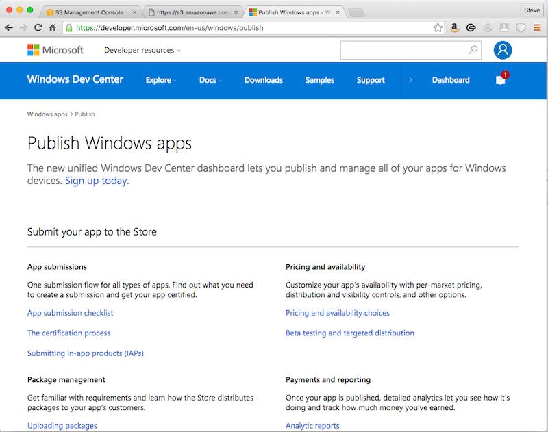 Deploying Native UWP (Universal Windows Platform) Apps for Java