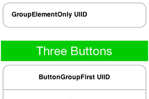 Sample ComponentGroup Grouping