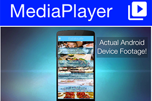 Media player sample