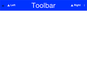 Simple usage of Toolbar