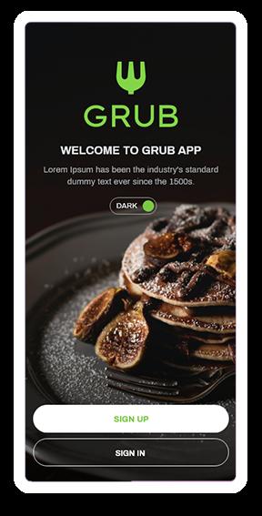 GrubHub - Welcome