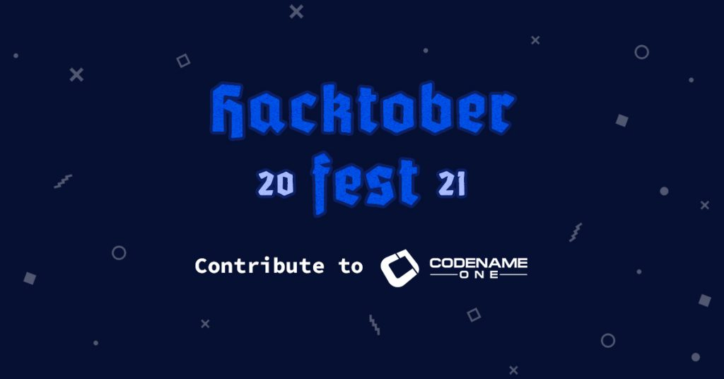 Codename One - Hacktoberfest 2021